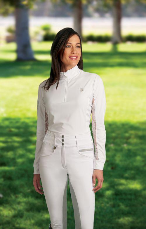 Romfh Women's Isabella Fullseat Breech - White