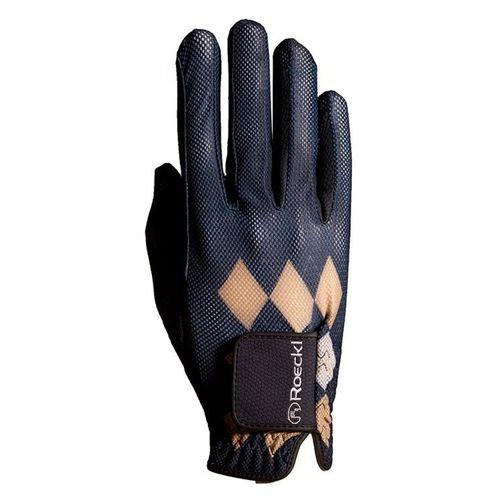 Roeckl Summer Argyle Chester Gloves - Navy