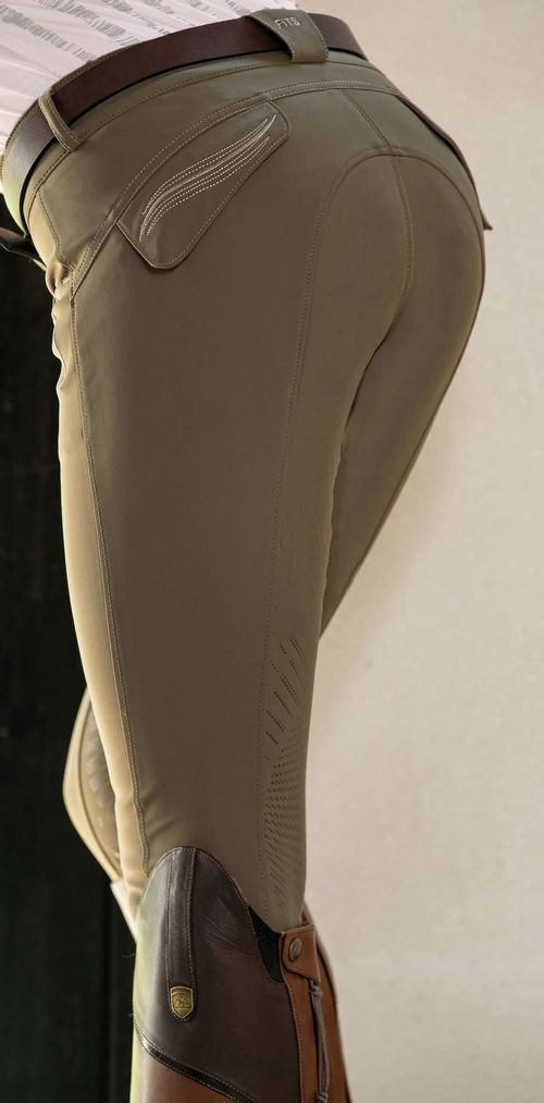 FITS Women's Abbey Knee Patch Tread Breeches - Olive