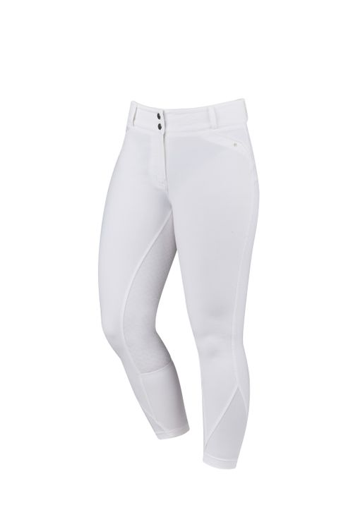 Dublin Women's Pro Form Gel Full Seat Breeches - White