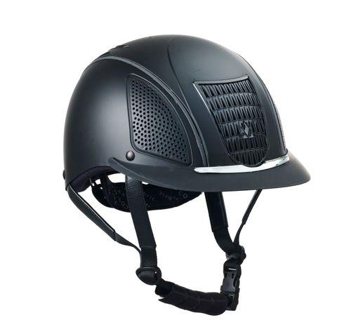 Mountain Horse Aero Pro II Helmet - Black/Black Trim