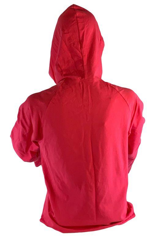 "Animals to Wear Women's ""Native Pony"" 1/2 Zip Shirt with Hood - Hot Pink"