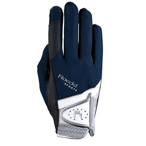 Roeckl Madrid Riding Gloves - Navy
