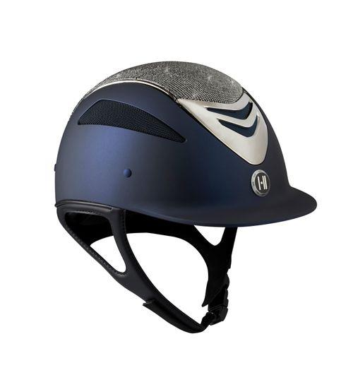 One K Defender Glamour Chrome Helmet - Navy Matte