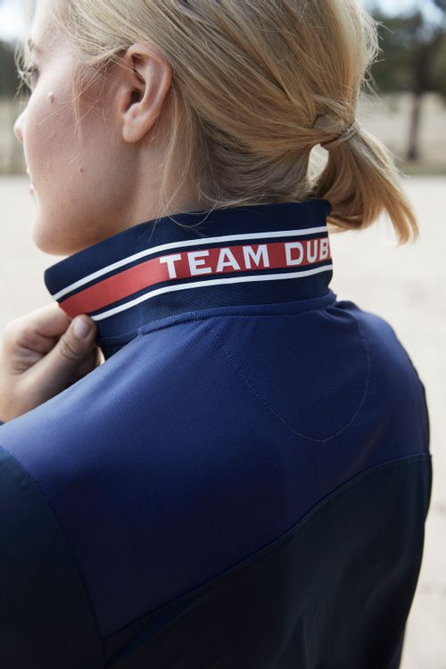 Dublin Women's Alexis Long Sleeve Team Technical 1/4 Zip Polo - Navy