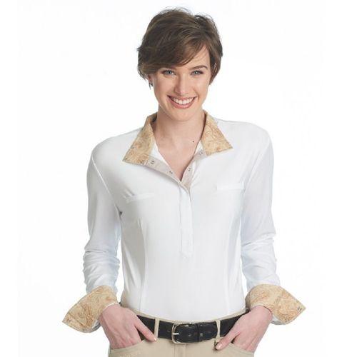 Romfh Women's Romfh Penelope Show Shirt - Sand Paisley/White