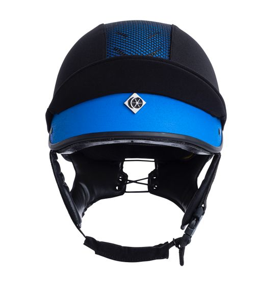 Charles Owen MS1 Pro Jockey Skull Helmet - Benetton