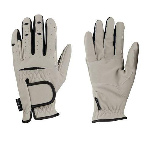 Dublin Everyday Mighty Grip Riding Gloves - Light Grey
