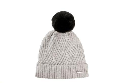 Alessandro Albanese Wool Pom-Pom Hat - Grey