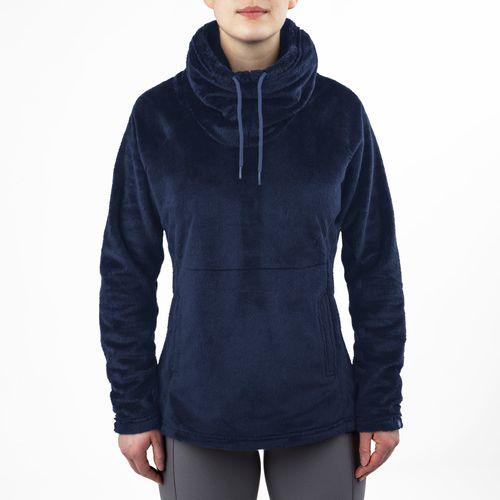 Irideon Women's Luxen Fleece Pull Over - Stellar Blue