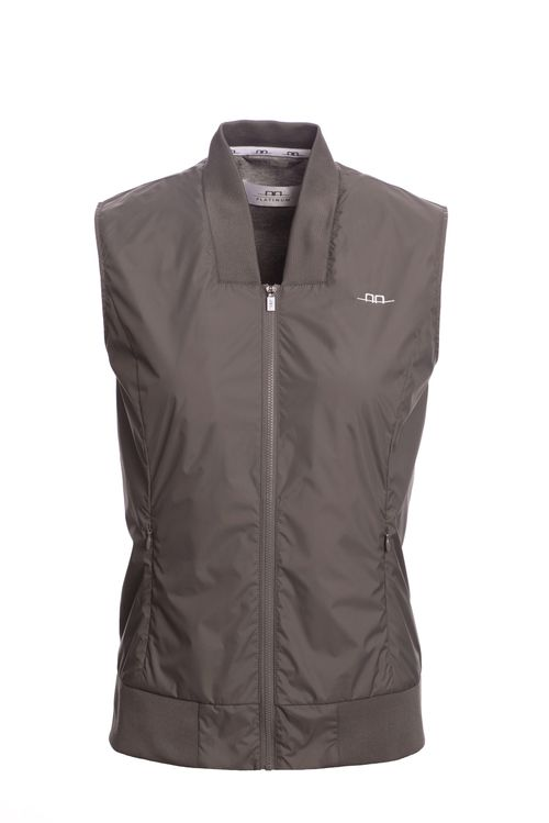 Alessandro Albanese Women's Water Repellent Vest - Taupe