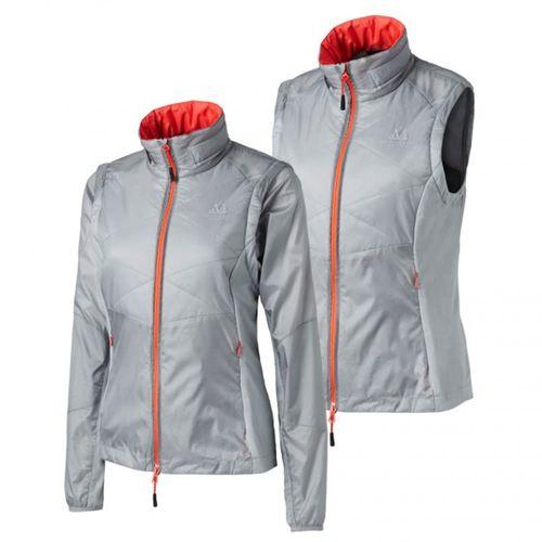 Mountain Horse Women's Movement Tech Zipoff Jacket - Shimmer Grey