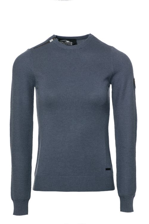 Alessandro Albanese Women's Pistoia Round Neck Sweater - Aviation Blue