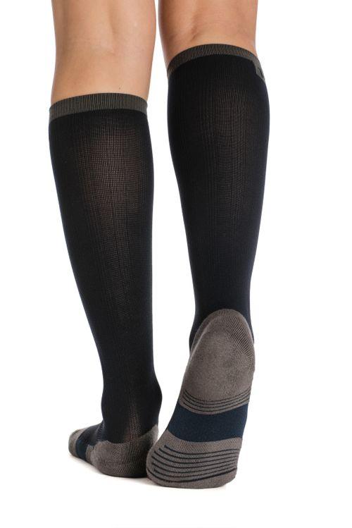 Horseware Women's Winter Tech Socks - Navy Melange