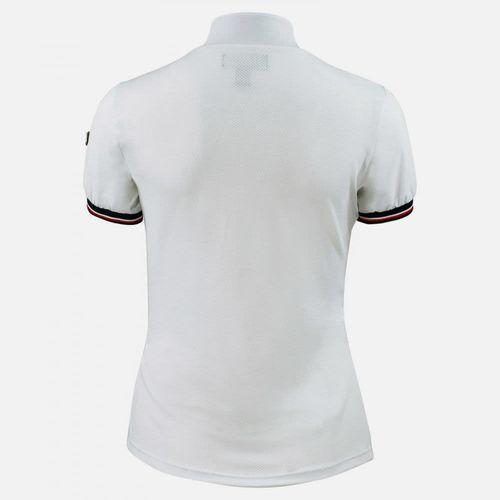 Horze Women's Taylor Short Sleeve Technical Shirt - White