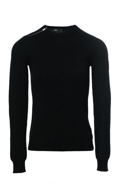 Alessandro Albanese Women's Pistoia Round Neck Sweater - Black