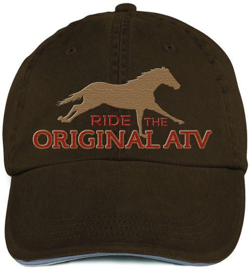 Kelley and Company Original ATV Cap - Brown