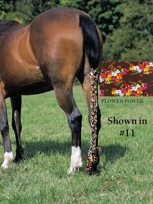 Jammies Three Piece Tail Wrap - Flower Power