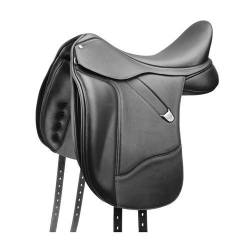 Bates Dressage Saddle w/Luxe Leather - Classic Black