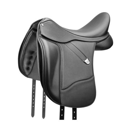 Bates Dressage Saddle w/Opulence Leather - Classic Black