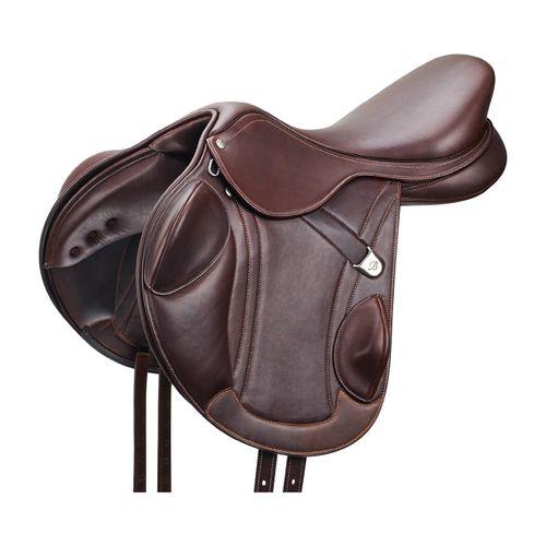 Bates Advanta Event Saddle - Classic Brown