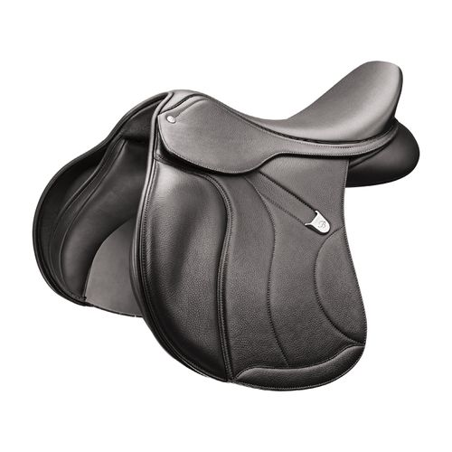 Bates All Purpose Square Cantle Saddle w/Opulence Leather - Classic Black