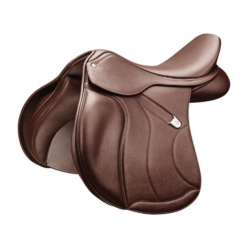Bates All Purpose Square Cantle Saddle w/Opulence Leather - Classic Brown