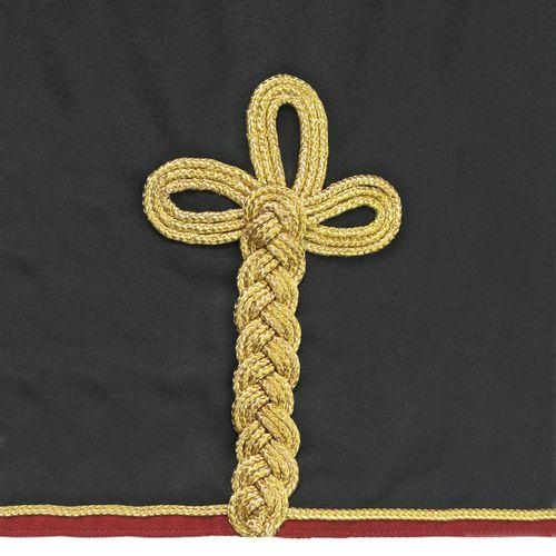 Centaur Wool Dress Cooler - Black/Burgundy/Gold