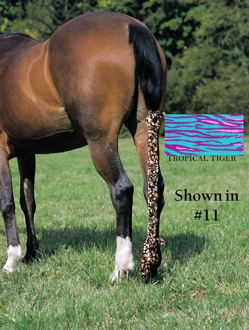 Jammies Three Piece Tail Wrap - Tropical Tiger