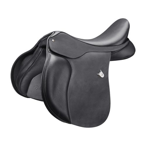 Bates All Purpose Saddle w/Heritage Leather - Classic Black