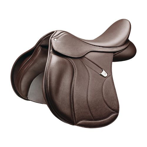 Bates All Purpose Saddle w/Opulence Leather - Classic Brown