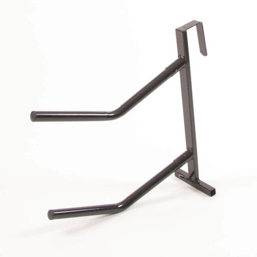 Ezi-Groom Ezi-Kit Hook Over Dual Saddle Rack - Black
