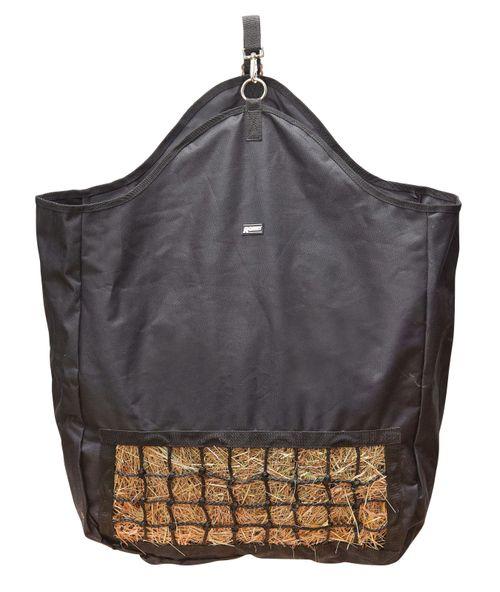 Roma Slow Feeder Hay Bag - Black