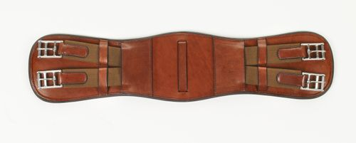 Ovation Elite Monoflap Event Girth - Medium Brown
