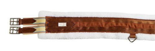 Lettia Cotton Fleece All Purpose Girth - Brown