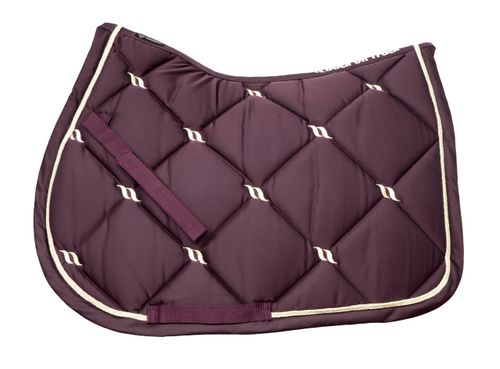 Back on Track Nights Collection All Purpose Saddle Pad - Ruby