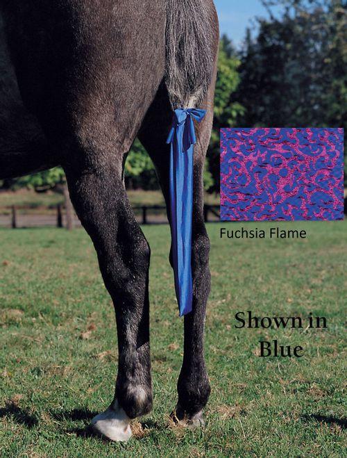 Jammies Tail Bag - Fuchsia Flame