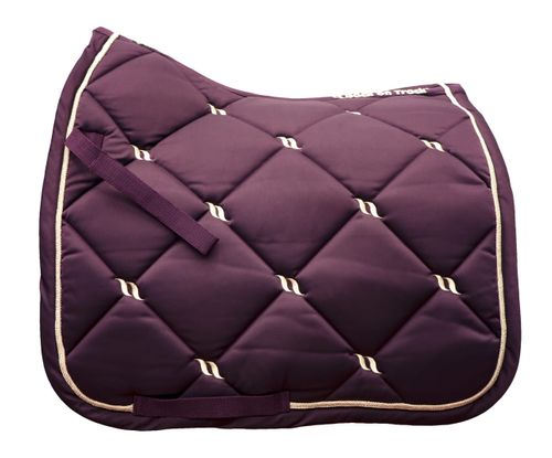 Back on Track Nights Collection Dressage Saddle Pad - Ruby