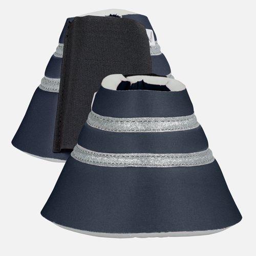 Horze Thun Bell Boots - Dark Navy