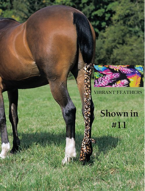 Jammies Three Piece Tail Wrap - Vibrant Feathers