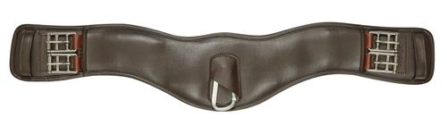 Collegiate Anatomic Dressage Girth - Brown
