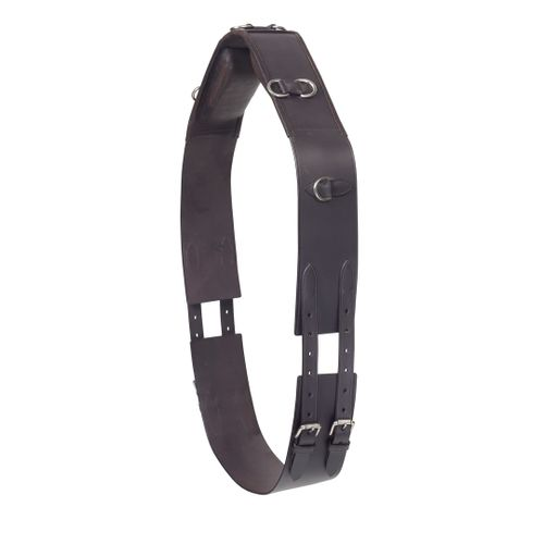 Camelot Leather 8-Ring Surcingle - Brown