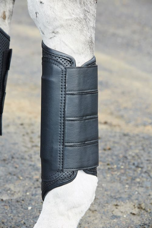 Weatherbeeta Cross Country Boots Hind - Black