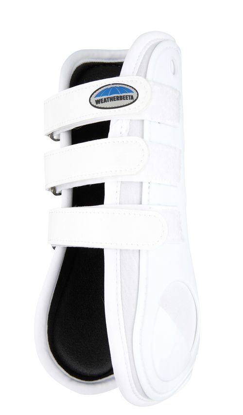 Weatherbeeta Dynamic Open Front Boots - White