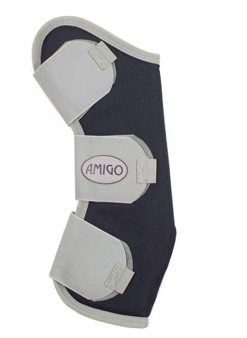 Amigo Travel Boots - Navy/Silver