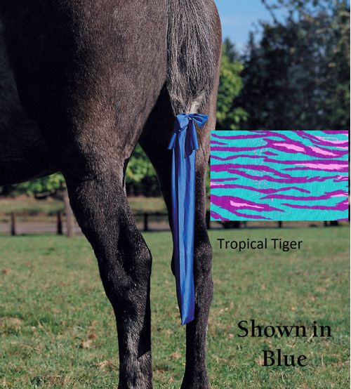 Jammies Tail Bag - Tropical Tiger