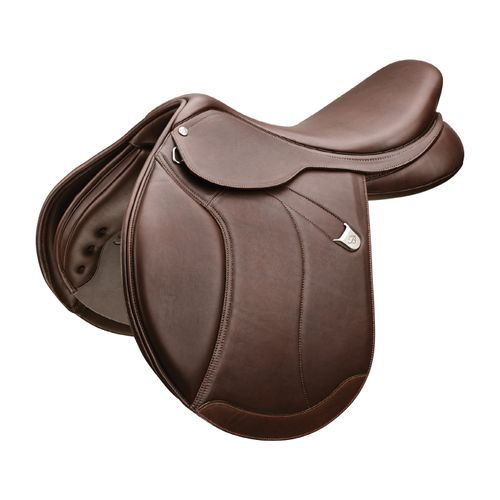 Bates Caprilli Luxe Leather Close Contact Saddle - Classic Brown