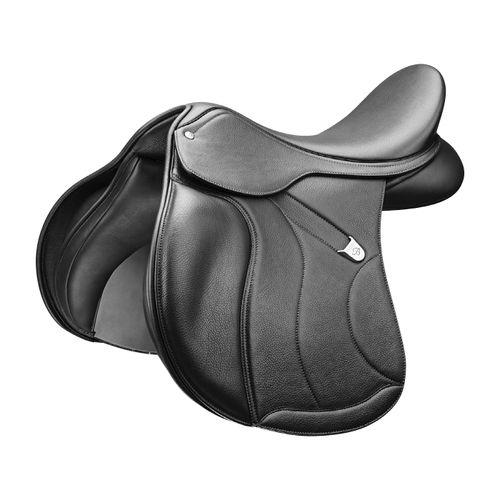 Bates All Purpose Saddle w/Opulence Leather - Classic Black