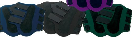 Centaur Neoprene Splint Boots - Hunter Green