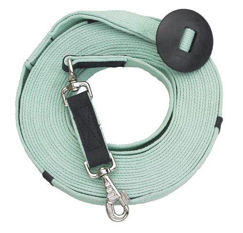 Centaur Cotton Web 35ft Lunge w/Donut - Ice Green